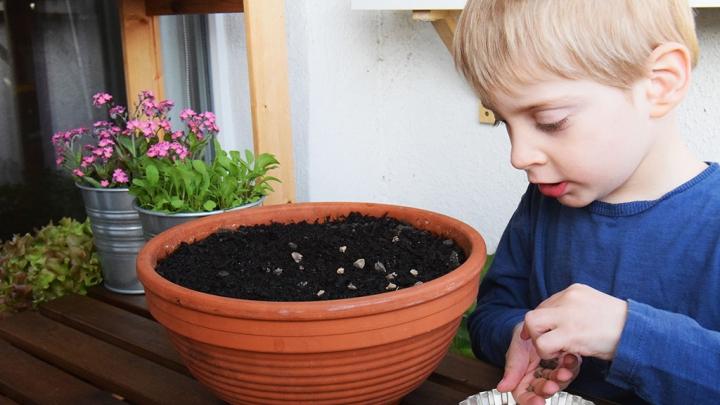 Vezmite deti do záhrady