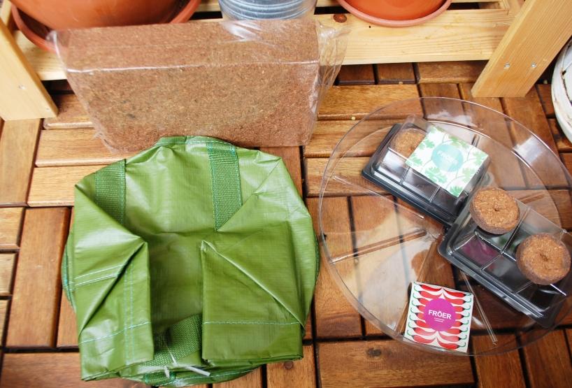 Ikea growing bag