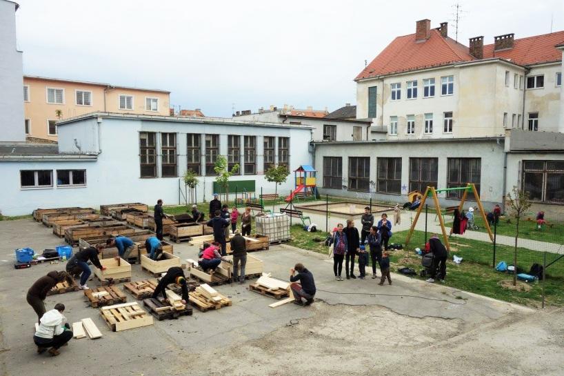 Mobilná záhrada Karpatská