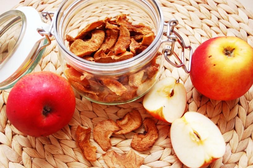 Dehydrating apples